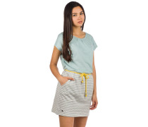 Agness Dress stripes