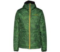 Gremlin Jacket forest green marble