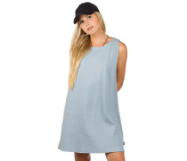 On The Fence Dress stormy blue