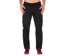 Cargo Tech Pants flex black
