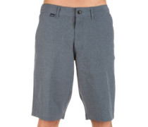 Essex Tech Stretch Shorts charcoal heather