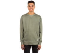 Wave Washed Crew Sweater military