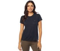 Washed Out Pocket Crew T-Shirt black