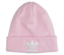 Trefoil Beanie clear pink
