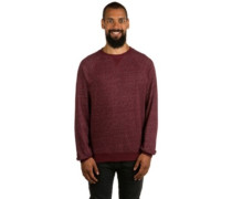 Meridian Crew Sweater napa red