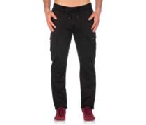 Cargo Tech Pants flex black