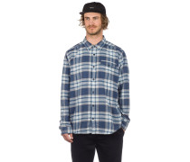 LW Fjord Flannel Shirt whyte stone blue