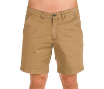 Flex Chino Shorts dark sand