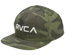 RV Twill Snapback III Cap olive camo