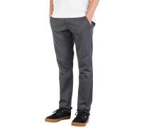 Flex Tapered Chino Pants dark grey