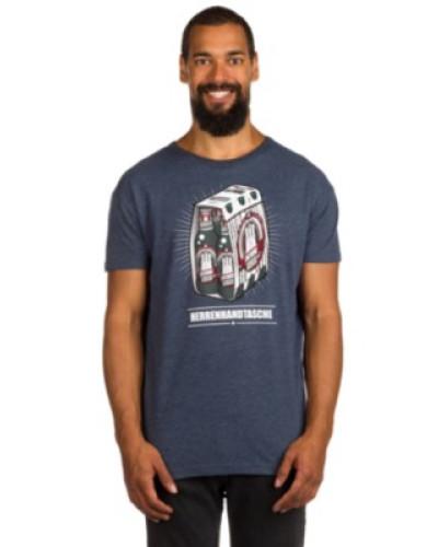 Herrenhandtasche Reloaded T-Shirt navy melange