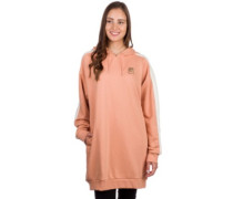 T7 Chains Hooded Dress Hoodie dusty coral
