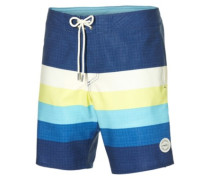 Mid Freak Horizon Boardshorts blue aop