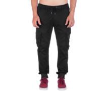 Reflex Rib Cargo Pants black