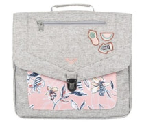 Take A Hike Backpack Girls coral almond trellis clim