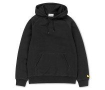 Chase Hoodie black gold