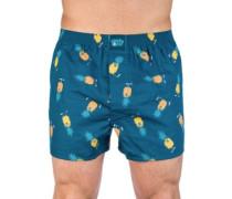 Ananas Boxershorts blue dive