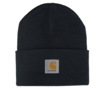 Acrylic Watch Beanie navy