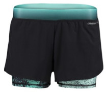 Active Double Shorts black out