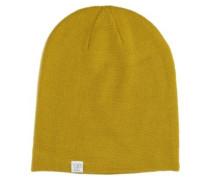 The FLT Beanie mustard