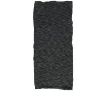 Midweight Merino Wool Tube graphite multi stripes