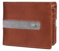 D Bah Leather Wallet tan