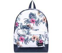 Sugar Baby Printed 16L Backpack bright white badami
