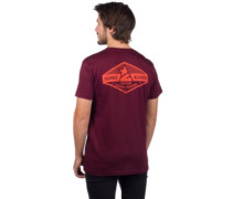 Erz T-Shirt ruby wine