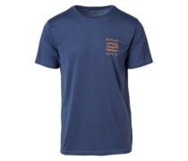 Funicon Chest T-Shirt blue indigo