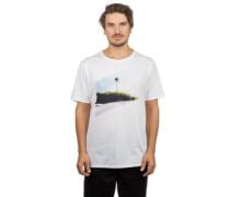 Icon Slash Palm T-Shirt white