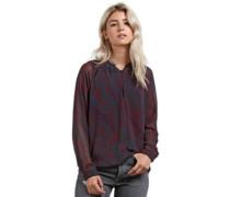 Zebom T-Shirt LS burgundy