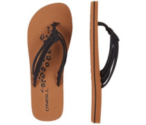 3 Strap Disty Sandals black out