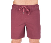 Washer Elastic Boardshorts dusty plum