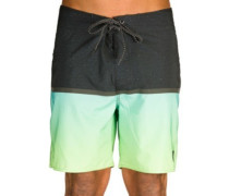 "Mirage Combined Fill 18"" Boardshorts lime"