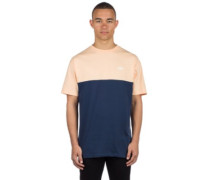Colorblock T-Shirt dress blues