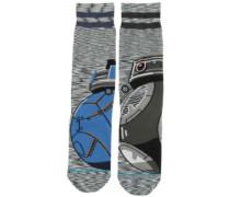 Astromech Star Wars Socks grey