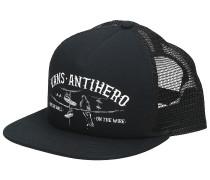 X Antihero Wired Trucker Cap zinnia