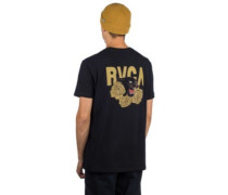 Panther N Roses T-Shirt black