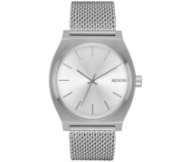 The Time Teller Milanese all silver