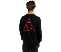 Triple Triangle T-Shirt LS black