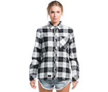 Jackson Flannel Shirt LS white