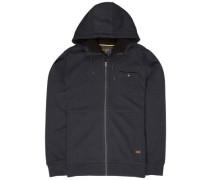 Hudson Sherpa Zip Hoodie black