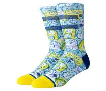 Kevin Lyons Crunch Socks blue