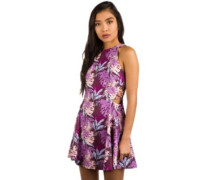 Laural Dress palm print