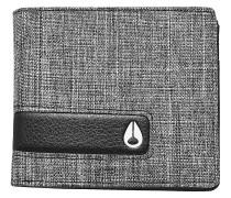 Showtime Bi-Fold Zip Wallet black wash