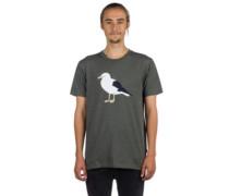 Gull 3 T-Shirt heather dark olive