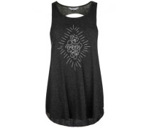 Quill Sense Tank Top black heather
