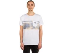 Retro Block T-Shirt white