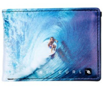 Capture Pu Slim Wallet blue