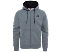 Open Gate Hooded Fleece Jacket tnfblck